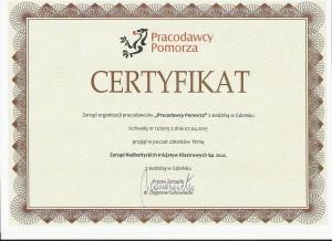 certyfikat PP